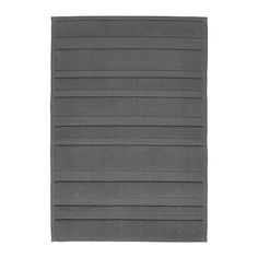 IKEA - RAMSKÄR, Bathmat, Flat woven and loop pile cotton. Adds softness and texture to the mat.