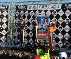 Charlie Kimball 3rd place finish Detroit