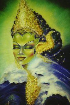 #Gusti_Kanjeng_Ratu_Kidul #Kanjeng_Ratu_Kidul #Ratu_Kidul #Nyi_Rara_Kidul #Nyi_Rara_Kidoel #Nyi_roro_kidul #Roro_Kidul #Nyi_Loro_Kidul #Nyai_Loro_Kidul #Loro_Kidul #Queen_Of_South #Goddess_Of_South_Sea #Goddess_Of_Indian_Ocean #Ratu_Samudra_Kidul #Javanese_Goddess Queen Of The South, To My Mother, South Seas, Disney Characters, Fictional Characters, Singing, Javanese, Princess Zelda, Legends