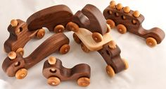 This adorable little wooden scooter would make a wonderful toy for any special loved one in your life. Created from high-quality walnut hardwood and made to last for generations to come! It is especially crafted for little one to push around as they are learning to crawl, and would be the perfect gift for your next birthday party or special occasion ! It is lovingly hand-crafted in our shop out of beautiful walnut wood. All of the edges are rounded over, sanded smooth, and finished with a…