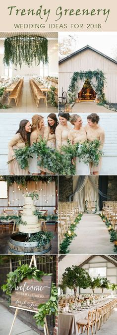 Trendy Greenery Wedding Ideas for 2018 Brides – Elegantweddinginvites.com Blog