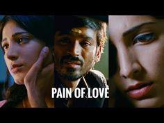 Moonu sad bgm😒❤️ | sad scene | Pain of love | Tamil love whatsapp status💔 - YouTube Tamil Video Songs, Samantha Images, Movie Love Quotes, Love Background Images, 3 Movie, Love Images, In My Feelings, Channel, Sad