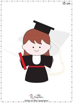 academica em feltro, artesanato em feltro, boneca formatura, felt craft, feltro, formatura em feltro, handmade felt, molde de formatura