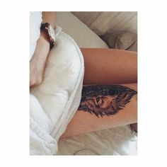 """Mi piace"": 12 mila, commenti: 28 - Little Tattoos (@littletattoosz) su Instagram: ""Nice Wolf by @malinmadicken make sure to give her a follow!💋#littletattoosz"""