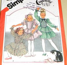 Vintage UNCUT Sewing Pattern Simplicity 6179  Frilly by dayglodiva, $5.99