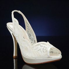 CAPARROS ASTRID IVORY Wedding and Bridesmaids Shoes IVORY Bridal Shoes