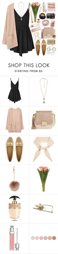 """""""2526. A real man gives his woman her place in his life. She will never be jealous of women, bacause he will always let her place be known."""" by chocolatepumma ❤ liked on Polyvore featuring Glamorous, Forever 21, MANGO, Emperia, ASOS, Chloé, Accessorize, Sia, Prada and Christian Dior"""