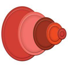 Karten-Kunst - Stempel- und Scrapbook-Shop - Spellbinders Nestabilities - Classic Ovals Small