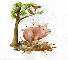original pig illustration - Google Search
