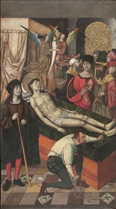 Death of Saint Vincent. Master of Castelsardo, c.1510. National Art Museum of Catalonia