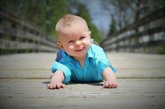 Outdoor 6 months baby boy