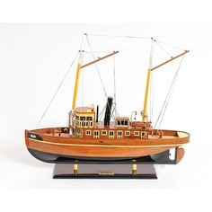 Old Modern Handicrafts Seguin Boat - B046