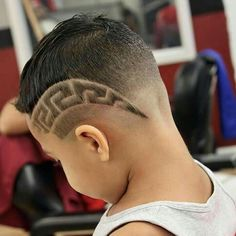 Haircuts Designs for Boys are also referred to as hair tattoos, and they are now officially among the greatest hairstyle tendencies of today's world. Boys Haircuts With Designs, Hair Designs For Boys, Boys Haircut Designs, Hair And Beard Styles, Curly Hair Styles, Haare Tattoo Designs, Shaved Hair Designs, Hair Tattoos, Boy Hairstyles