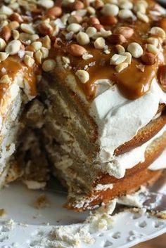 Yleisön pyynnöstä mun kakkujutun banaanikakun resepti on näemmä pakko julkaista myös blogissa. Toivotaan, että se inspiroi jokaista ko... Finnish Recipes, Good Food, Yummy Food, Yummy Yummy, Cake Bars, Little Cakes, Coffee Cake, Vegan Desserts, Yummy Cakes