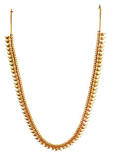 Chunagth jewellery exploring most elengant collections in traditional gold jewellery necklace designs. One of the most unique collections of traditional mango mala designs can shop from here. Indian Jewelry Sets, Silver Jewellery Indian, Indian Wedding Jewelry, Bridal Jewelry, Gold Earrings Designs, Gold Jewellery Design, Necklace Designs, Gold Mangalsutra, Gold Necklace