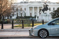 Riding through our nation's capital in style. #Prius #PresidentsDay