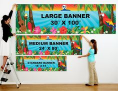 Custom Vinyl Banner Printing Los Angeles. #vinylbanner #print #CMYK