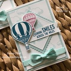 Retiring Colors with the Lift Me Up Stamp Set