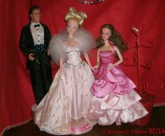 A very Barbie Valentine's Day (Video)--Barbie doll is a natural for Valentine's Day. Not only has Mattel created a plethora of Valentine's Barbie dolls for collectors through the years, but Barbie's signature color is pink-- Barbie pink.