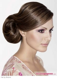 Elegant event/evening hair