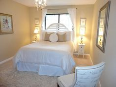 guest room decorating ideas | Guest room on a budget!