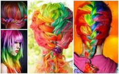 I wanna do this to my hair for a day. Sand Art, Different Hairstyles, Rainbow Hair, Color Mixing, Find Image, My Hair, Hair Makeup, Hair Color, Dreadlocks