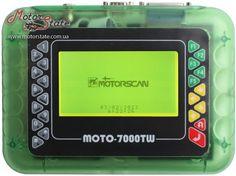 Moto 7000TW. Портативный сканера диагностики мотоциклов Honda, Harley-Davidson, BMW, Kawasaki, Yamaha, Suzuki, Ducati и других