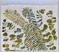 Watercolor Lettering, Plant Leaves, Plants, Plant, Planets