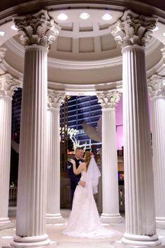 Las Vegas wedding, Caesars Palace