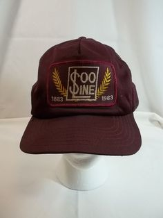 25a72ff94e5689 Vintage Soo Line Cap Hat Trucker Mesh Snapback Beat Up Old Dirty 1883 to  1983