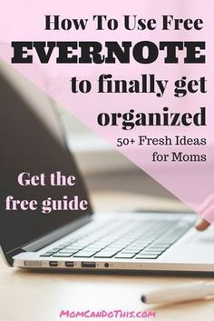 Get the most of the free evernote plan. Organize your entire mom life with these clever hacks. 50 ideas in a free guide! Evernote Template, Time Management Planner, Project Management, Excel Formulas, Apps For Moms, Planners, Computer Programming, Computer Tips, Computer Literacy