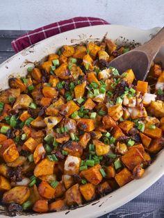 Buffalo Sweet Potato & Chicken Casserole (Recipe Revisit) (the preppy paleo)