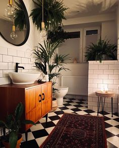 How to get unstuck: take a cold shower. It's like walking through a doorway to a new body and a new life. Bathroom Plants, Boho Bathroom, Bathroom Interior, Bathroom Ideas, Bohemian Interior, Home Decor Furniture, Furniture Shopping, Furniture Online, Beautiful Bathrooms