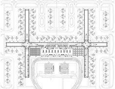 Suvarnabhumi Airport [Bangkok Airport] by Helmut Jahn of Murphy/ Jahn Architects. Helmut Jahn, Bangkok, Suvarnabhumi Airport, Airport Design, International Style, International Airport, Acrylic Painting Techniques, Architecture Plan, Urban Planning