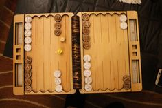 XYZ Design laser cut backgammon Laser Cut Box, Laser Cutting, Cnc, Wood Projects, Projects To Try, Laser Cutter Projects, Lazer Cut, Laser Engraving, Puzzles