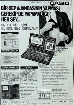 1988 Bir cep ajandasının yapması gerekip de yapamadığı her şey... Vintage Advertisements, Nostalgia, Canvas Art, Turkey, Advertising, Memes, Funny, Turkey Country, Vintage Ads