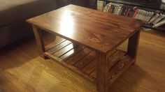 pallet coffee table | Do It Yourself Home Projects from Ana White