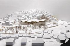 Architectural Model - Henning Larsen Architects 'Darat King Abdullah II' Competition in Amman