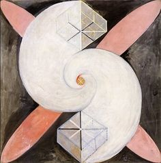 """free-parking: """"Paintings by Hilma af Klint """" Five years before Wassily Kandinsky (he of the book Concerning the Spiritual In Art, before Piet Mondrian and Kazimir Malevich, before. Piet Mondrian, Klimt, Wassily Kandinsky, Abstract Painters, Abstract Art, Abstract Expressionism, Sophie Taeuber Arp, Hilma Af Klint, Digital Museum"""