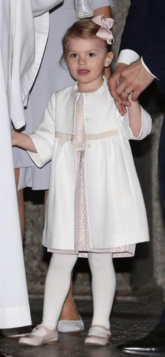 HRH Princess Estelle of Sweden at the presentation of the banns of marriage for her uncle HRH Prince Carl Philip to Miss Sofia Hellqvist on May 17, 2015.