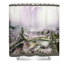 Printed with Fine Art spray painting image Bridge Of Spirits Nandor Molnar (When you visit the Shop, change the background color and image size as you wish)