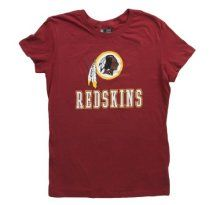 Majestic Womens Washington Redskins Franchise Fit IV T-Shirt Red - Official NFL T-Shirts and Hoodies at TeeShirtMadness.com