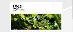 Web design for Glen Shian Vineyard