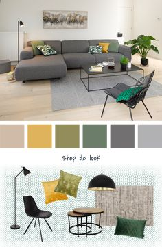 Obtain living room color ideas as well as motivation in this beautiful collection of living room images. See the very best living room colors from the leading paint Home Design Living Room, Home And Living, Room Decor Bedroom, Living Room Decor, Living Room Color Schemes, Room Colors, Colours, Room Interior, Home Decor