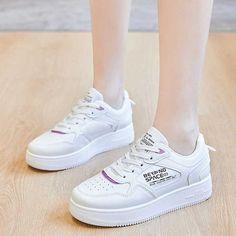 Women's #white casual shoe #sneaker letter print design Adidas Sneakers, Shoes Sneakers, White Letters, Shoe Shop, White Shoes, Adidas Stan Smith, Casual Shoes, Running Shoes, White Casual