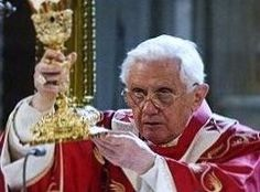 Mass with Pope Benedict