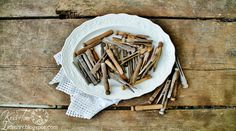 Vintage Wooden Clothespins - set of 15 by KnickofTime Vintage Decor, Vintage Antiques, The Knick, Wooden Clothespins, How To Look Pretty, Give It To Me, Diy Projects, Design Inspiration, Wellness