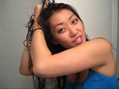 Tutorial -- How to scrunch your hair