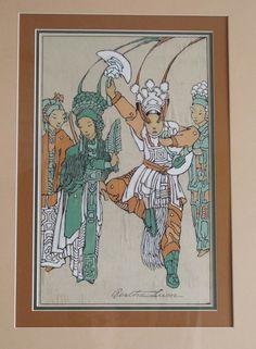 Bertha Lum ~ Dancers, 1932