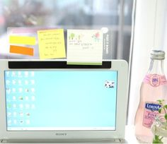 Memo thingy to attach to your laptop so you don't put post it's on the screen! *need*